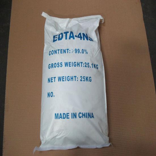 Industrial Grade 99.8% EDTA 4na Powder, Ethylene Diaminetetra Acetic Acid Tetrasodium Salt