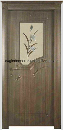Economical Interior Wooden Rounded MDF PVC Door (EI-P057) pictures & photos