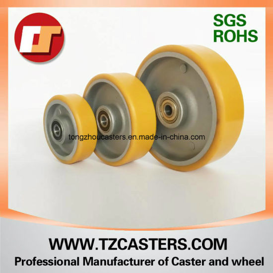 PU Caster Wheel with Aluminum Center 4inch/5inch/6inch/8inch