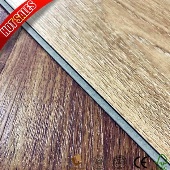 China 2mm Luxury Wood Effect Vinyl Flooring Bathroom China Pvc