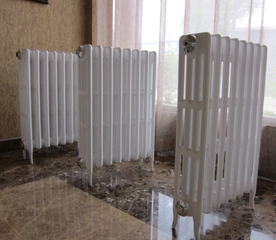 China UK Hot Sale 4 Colum Cast Iron Radiator for Central Heating ...