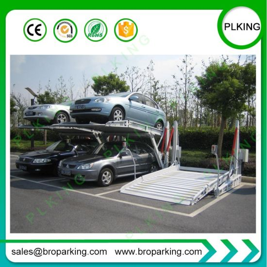 China Plking Auto Mobile Tilting Car Elevator Lift With Ce China