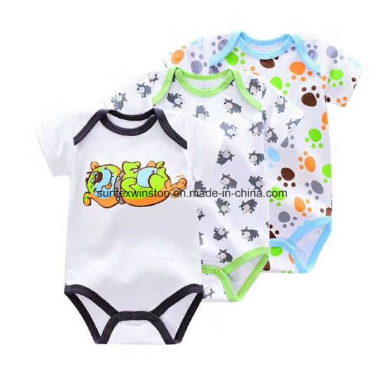 100% Cotton Newborn Baby Clothes-3PCS Set