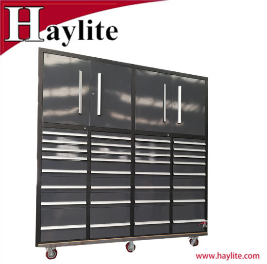 OEM Garage Use 32 Drawer Mobile Steel Toolbox Tool Cabinet Qingdao Supplier pictures & photos