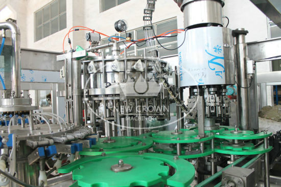 Carbonated Beverage Bottling Machine (YFDY12-12-4) pictures & photos