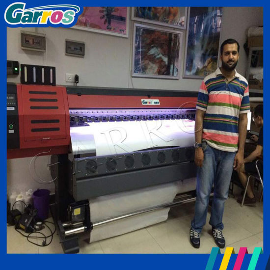 1.8m Dx7 Head Large Format Eco Solvent Outdoor Printer pictures & photos
