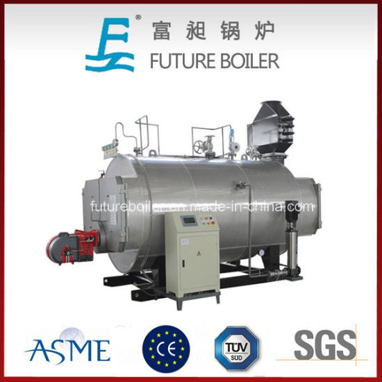 China Wns Industrial 3-Pass Horizontal Oil/Gas Fired Steam Boiler ...