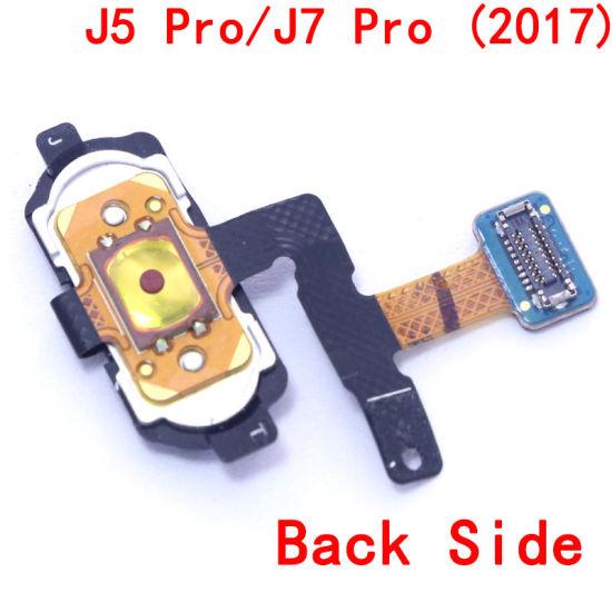 (Wholesale All models) Home Button Flex for Samsung J7 PRO 2017/J730/J7 Max  Black/White/Pink