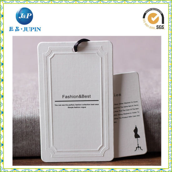 Manufacturer Garment Tags for Clothing Hang Tags/ Gift Tags (JP-HT011)