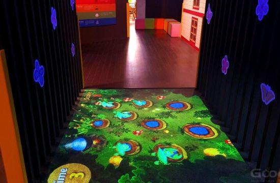 Gooest Interactive Game Projection Floor for Kids Entertainment Amusement Park Projection Floor
