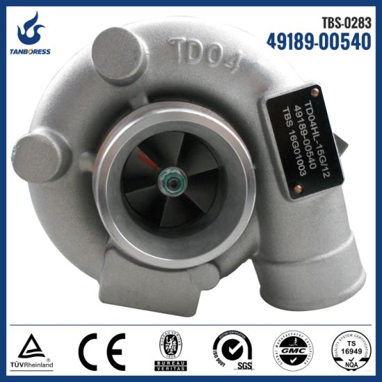 Caterpillar JCB Isuzu turbo 49189-00511 49189-00550 49189-00540  turbocharger for 3066 4BG1T engine