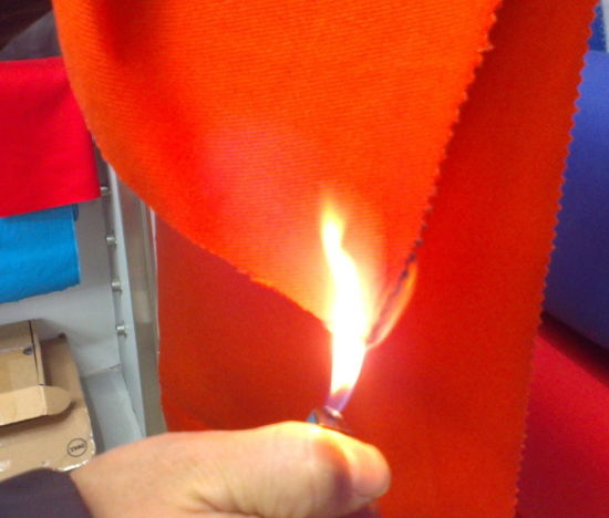 Textile 100 Cotton Thick Twill Safety Flame Retardent Fabric