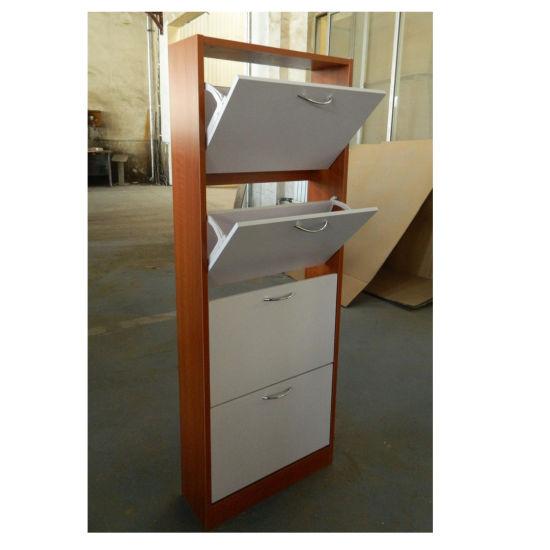 Attrayant New Design 4 Tiers Corner Shoe Cabinet Shoe Rack Storage