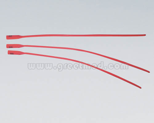 Hospital Medical Urethral Catheter (Red Latex)