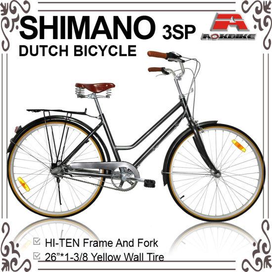 China 26 Inch Inner 3 Speed Oma Dutch Bicycle (AYS-2632S) - China ...