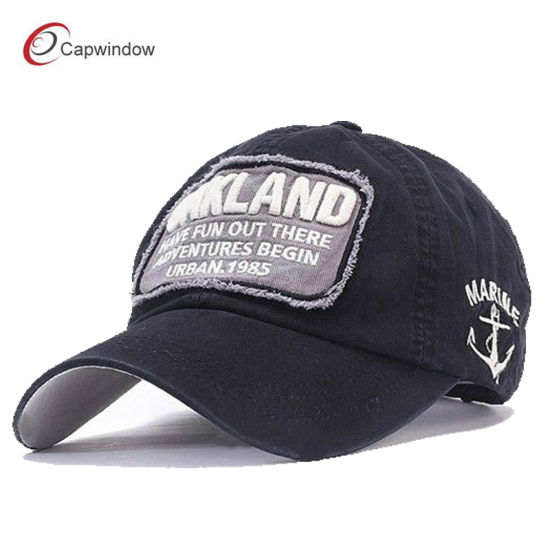 e47beb81814 Navy Orange Brown Embroidered Fashion Leisure Sport Baseball Hat pictures    photos