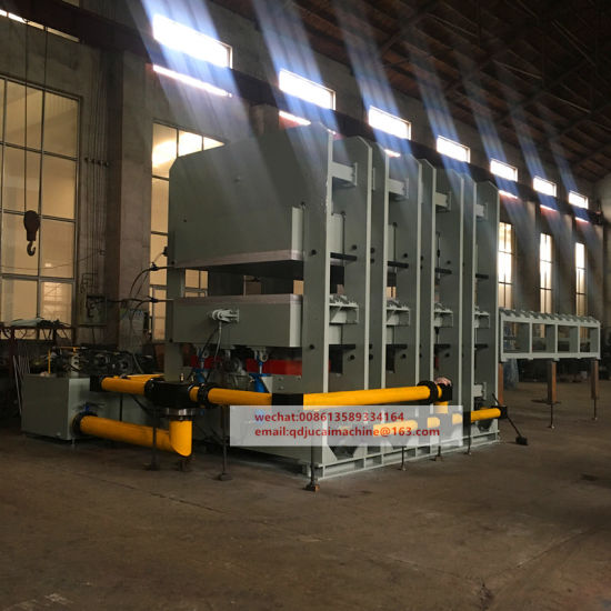 Frame Type Hydraulic Vulcanizing Press Machine pictures & photos