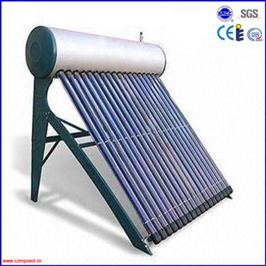 2016 Copper Coil Pressurized Solar Hot Water Heater pictures & photos
