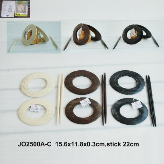 Wooden Curtain Tiebacks in MDF with Good Price! pictures & photos
