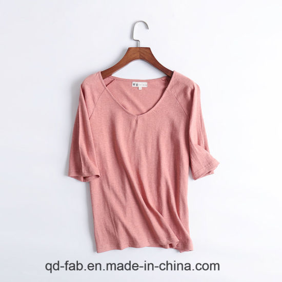 Short Sleeve Women′s T-Shirts pictures & photos