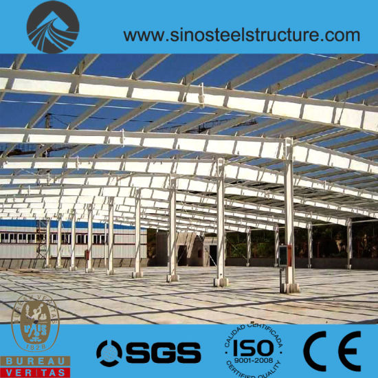 Ce BV ISO Certificated Steel Construction Factory Plant (TRD-042)