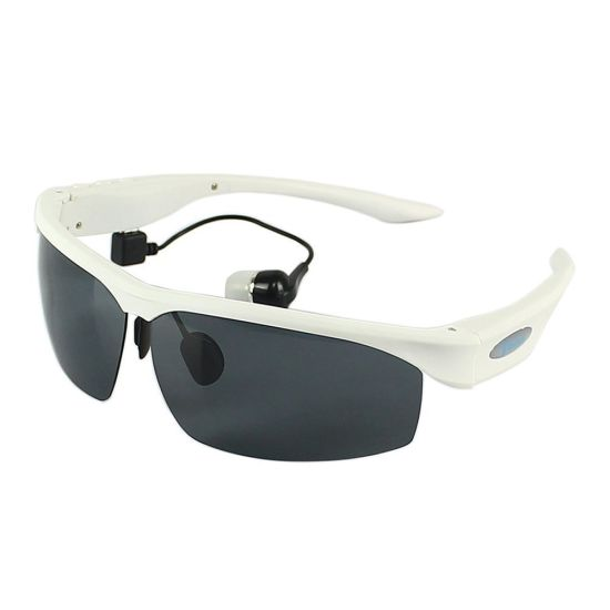 Bluetooth Sunglasses Headphones Sports Polarized Glasses Headset with MP3 Player for Smart Phone