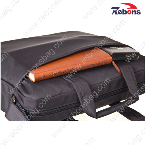 Custom Black Nylon Men Business Portfolio Computer Laptop Bags pictures & photos