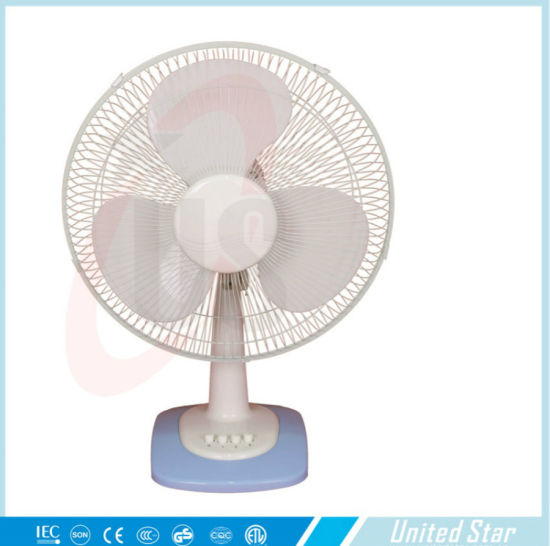 12u2032u2032 16u2032u2032 Exhaust Electric Plastic Table Fan For House Use