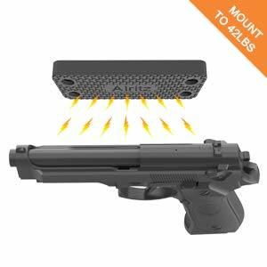 Rubber Coated Magnetic Gun Magnets Pistol Gun Grip
