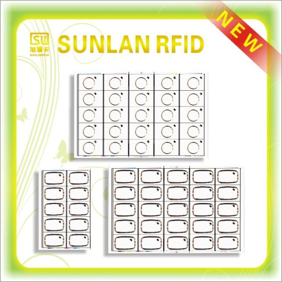 RFID PVC 5*5layout Lf Inlay Sheet pictures & photos