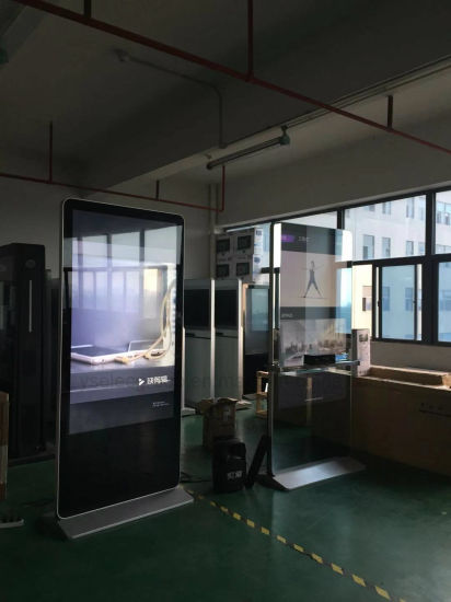 "Yashi 70"" Chinese Design Indoor Magic Interactive Smart Mirror with Somatosensory Game"