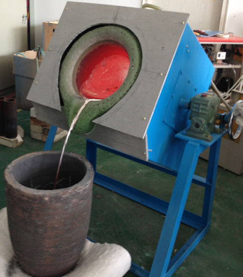 High Temperature Industrial Crucible Melting Furnaces Factory Price