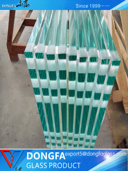 Hot Selling Toughened Laminated Glass for Commercial Building Glass Railing