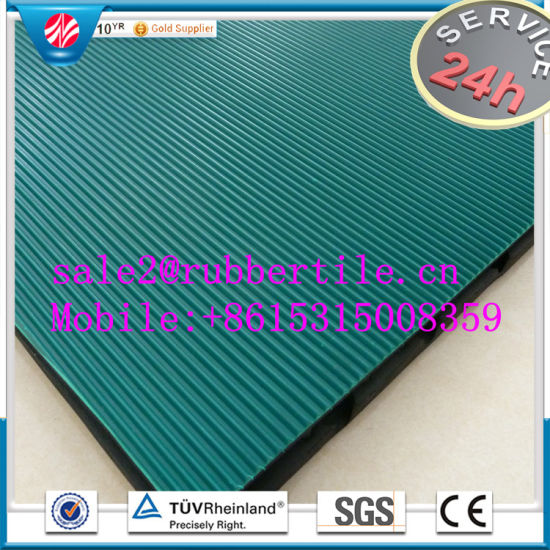 Rib Rubber Sheet/Acid Resistant Rubber Sheet/Anti-Abrasive Rubber Sheet pictures & photos
