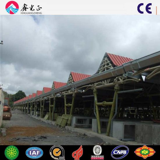 Maurius Prefabricated Steel Structure Marketing