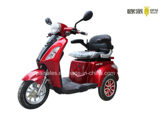 Electric Mobility Scooter 3-Wheel Electric Tricycle 1kw E-Scooter