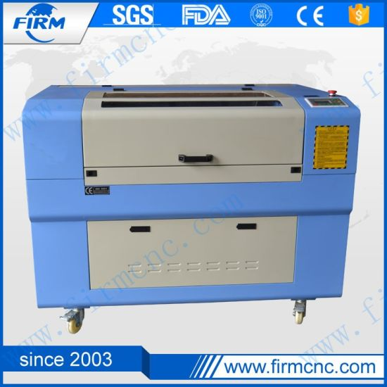 Engraving Cutting CO2 CNC Laser Machine with 60W Laser Tube pictures & photos