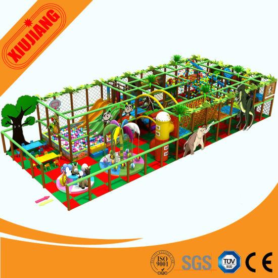 Indoor Playground, Soft Playground Indoor for Kids (XJ1001-BD05)