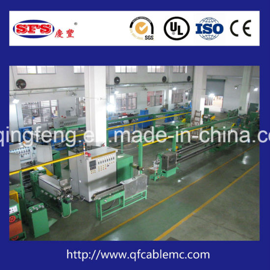 Hot Sale Teflon Wire Extrusion Production Line for Wire and Cable pictures & photos