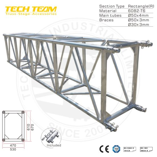 Hot Sale Aluminium Spigot Truss Compatible/Lighting Tower Truss