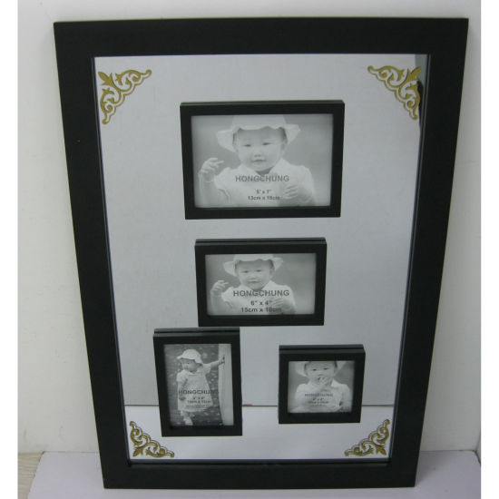 New Design Wooden Mirror Frame for Home Deco pictures & photos
