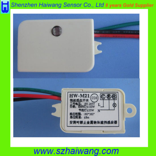 Human Body Induction Microwave Sensor Motion Module (HW-M21) pictures & photos