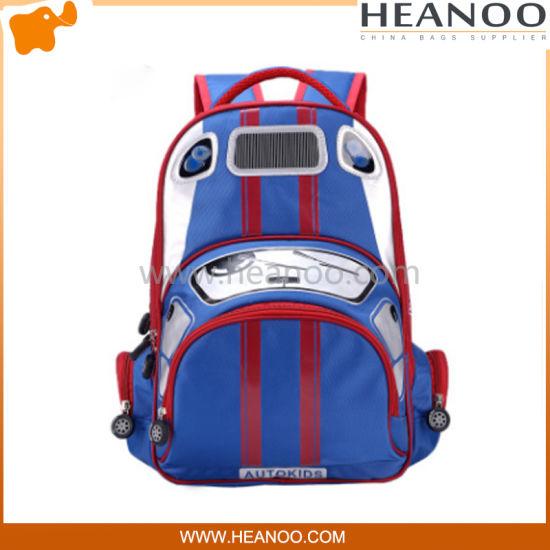 Transformers Three Wheels Student School Bags Trolley Waterproof Unisex Backpack