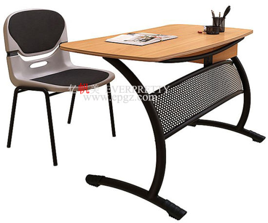 Dubai School Supplies Wholesale MDF Student Writing Tables pictures & photos