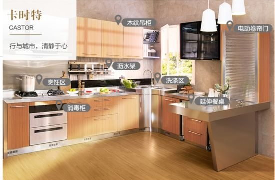 promo code 9fd52 36c74 China Built in Kitchen Cabinets Overhead Kitchen Cabinets ...