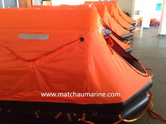 Ec Med Approval 25 Men Marine Lifesaving Equipment Raft pictures & photos