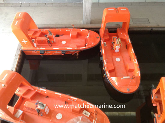 Open Type FRP Marine Lifesaving Rescue Boat and Davit pictures & photos
