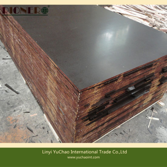 Waterproof Brown Film Faced Plywood for Formwork (12mm15mm, 18mm,)