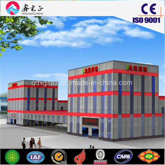 Steel Structure Prefabricated Warehuse to Customized pictures & photos