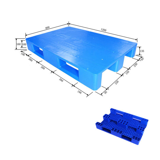 Cheap HDPE Pallets with ISO/SGS for Food Cold Storage